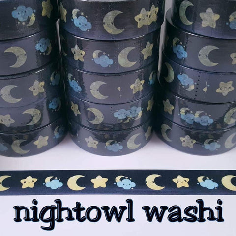 Moonlit Nights Washi Tape
