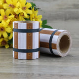 Train Track Wide Washi Tape