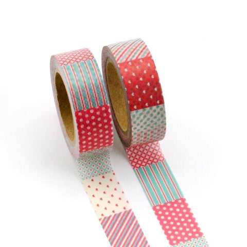 Lovely Quilt Washi Tape