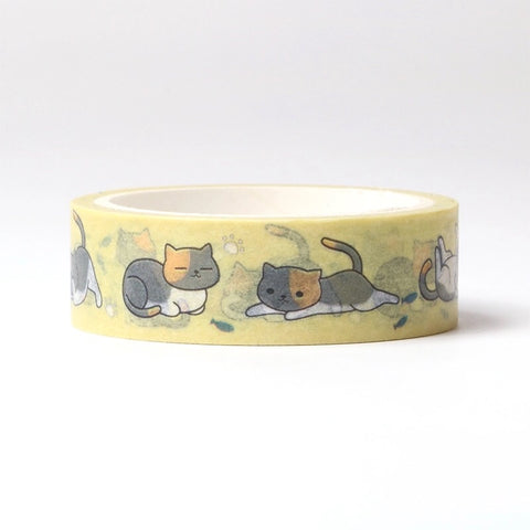 Playful Kitties Washi Tape