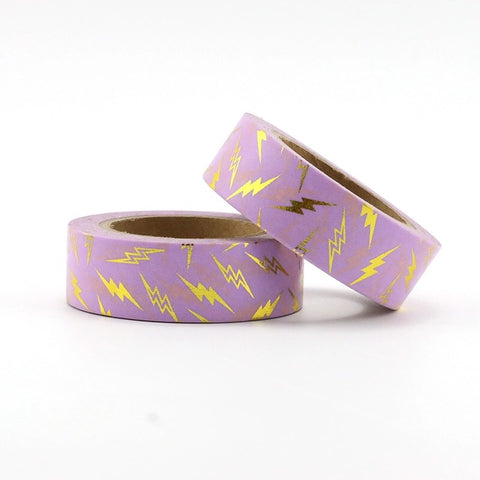 Flashes of Lightning Foil Washi Tape