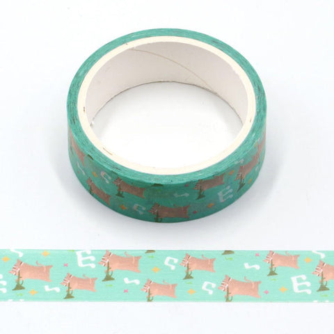 Cartoon Musical Cats Washi Tape