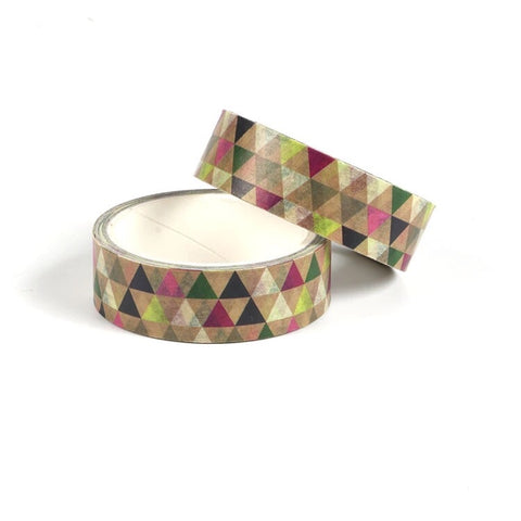 Fall Triangle Washi Tape