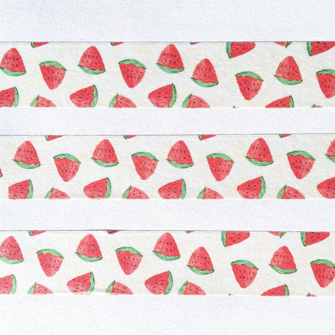 Watercolor Watermelons Wide Washi Tape