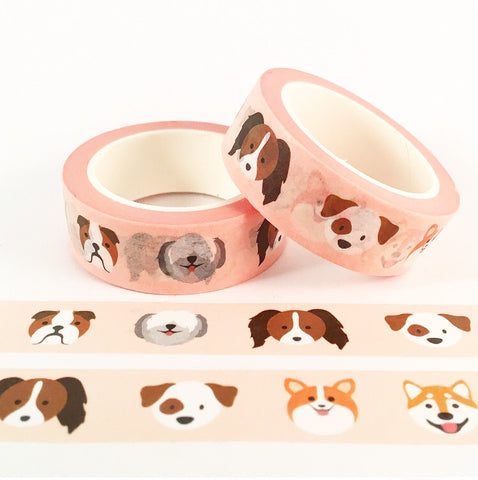 Cute Doggies Washi Tape
