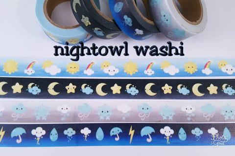 Wonderful Weather Washi Tape