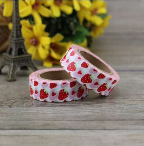 Sweet Strawberry Washi Tape