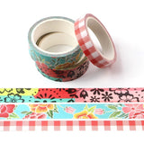 Floral Washi Tape Set of Three
