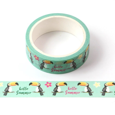 Toucans of Summer Washi Tape
