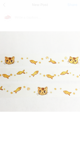 Kitty's Dream Wide Washi Tape