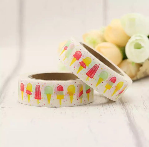 Frozen Treats Washi Tape