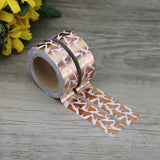 Rose Gold Butterflies Washi Tape