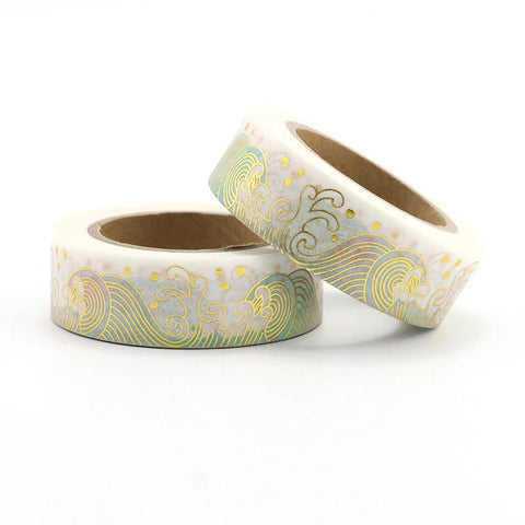 Gold Tsunami Washi Tape