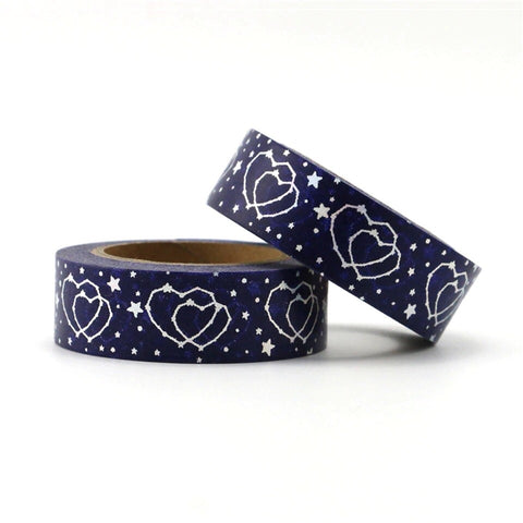 Constellations of Love Holographic Foil Washi Tape