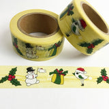 Frosty and Friends Wide Washi Tape