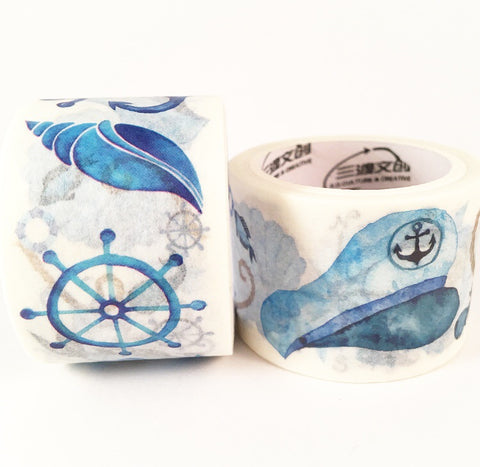 Nautical Wide Washi Tape