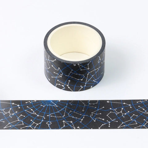 Constellation Wide Foil Washi Tape