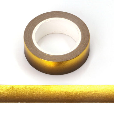 Gold to Black Ombré Foil Washi Tape