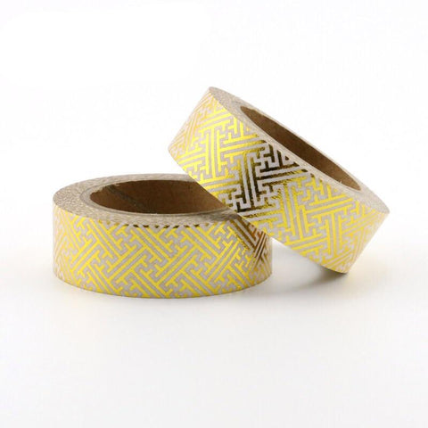 A-maze-ing Gold Washi Tape