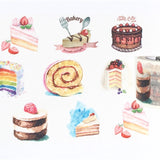 Decadent Desserts Wide Washi Tape