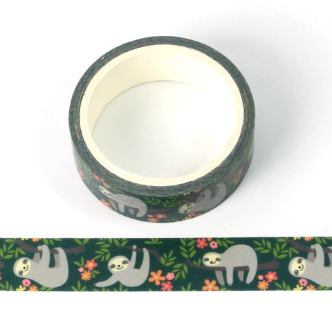 Silly Sloth Washi Tape