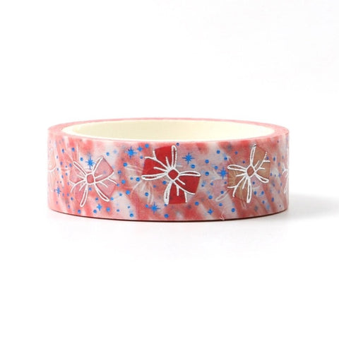 Bubbly Bows Foil Washi Tape