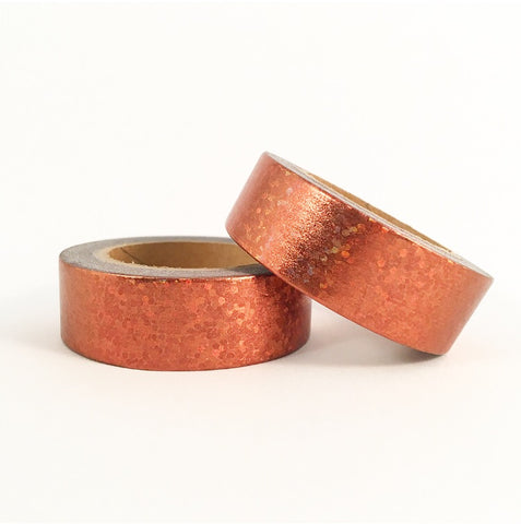 Copper Holographic Foil Washi Tape