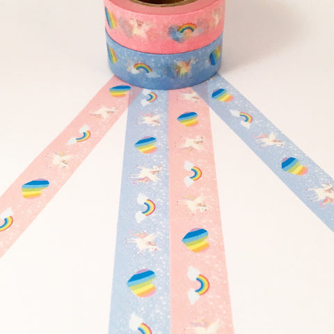 Rainbow Unicorn Washi