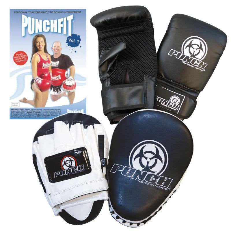 Punch Gloves & Focus Pads Set