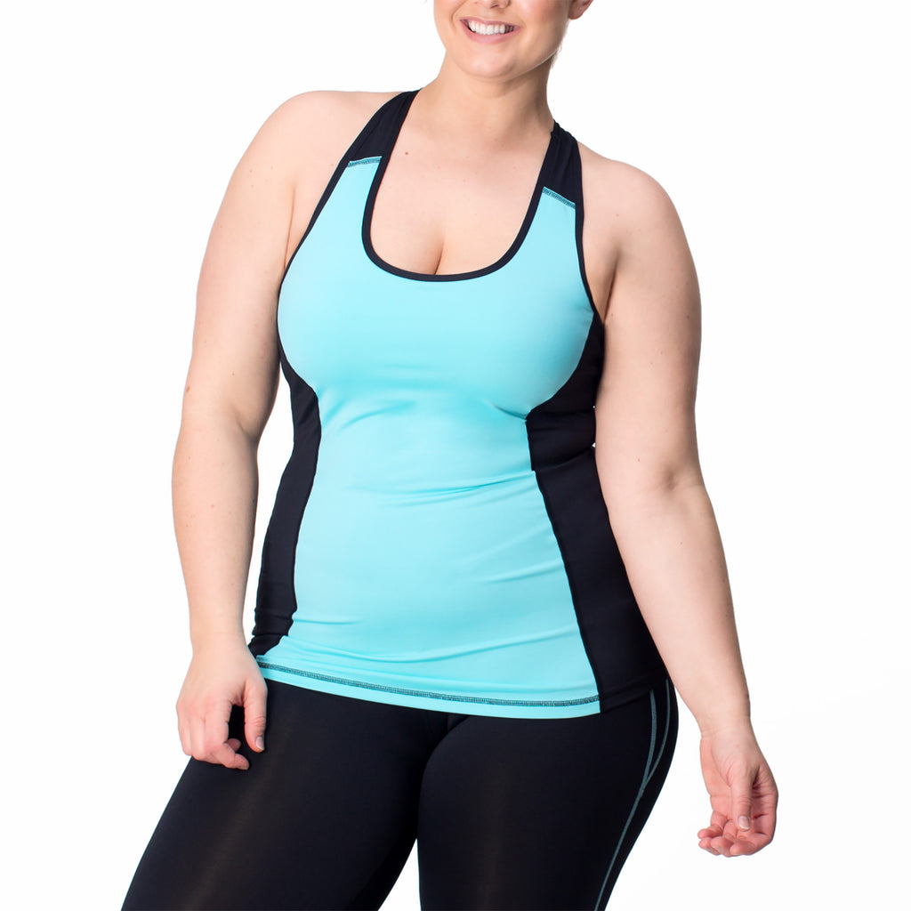 Rainbeau Curves Juliana Tank - Move Your Body
