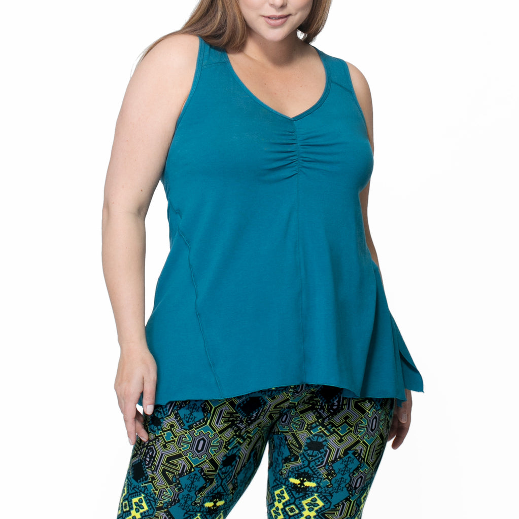 Rainbeau Curves Adele Tank - Move Your Body