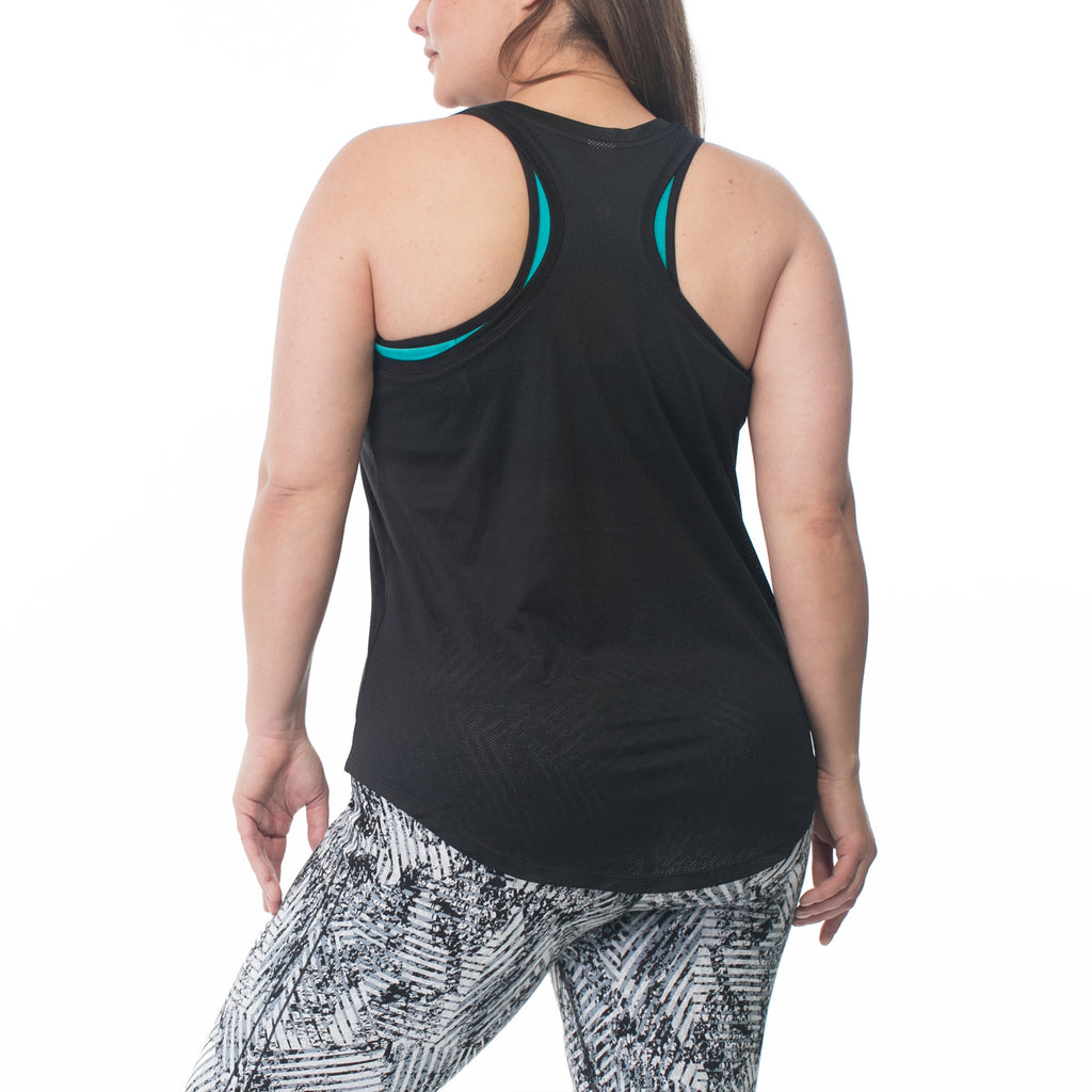 Rainbeau Curves Mira Tank - Move Your Body