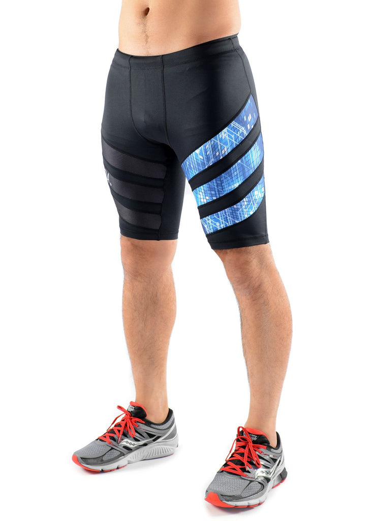 STRYDA Electric Blue Run Shorts - Move Your Body