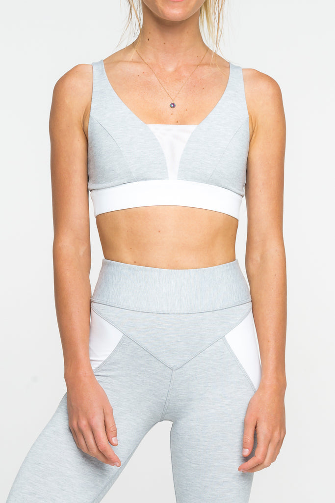 Arcaa Movement CRUX BRA - GREY WHITE