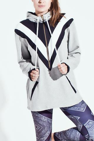 Arcadia Movement Flash Hoodie - Grey/Black