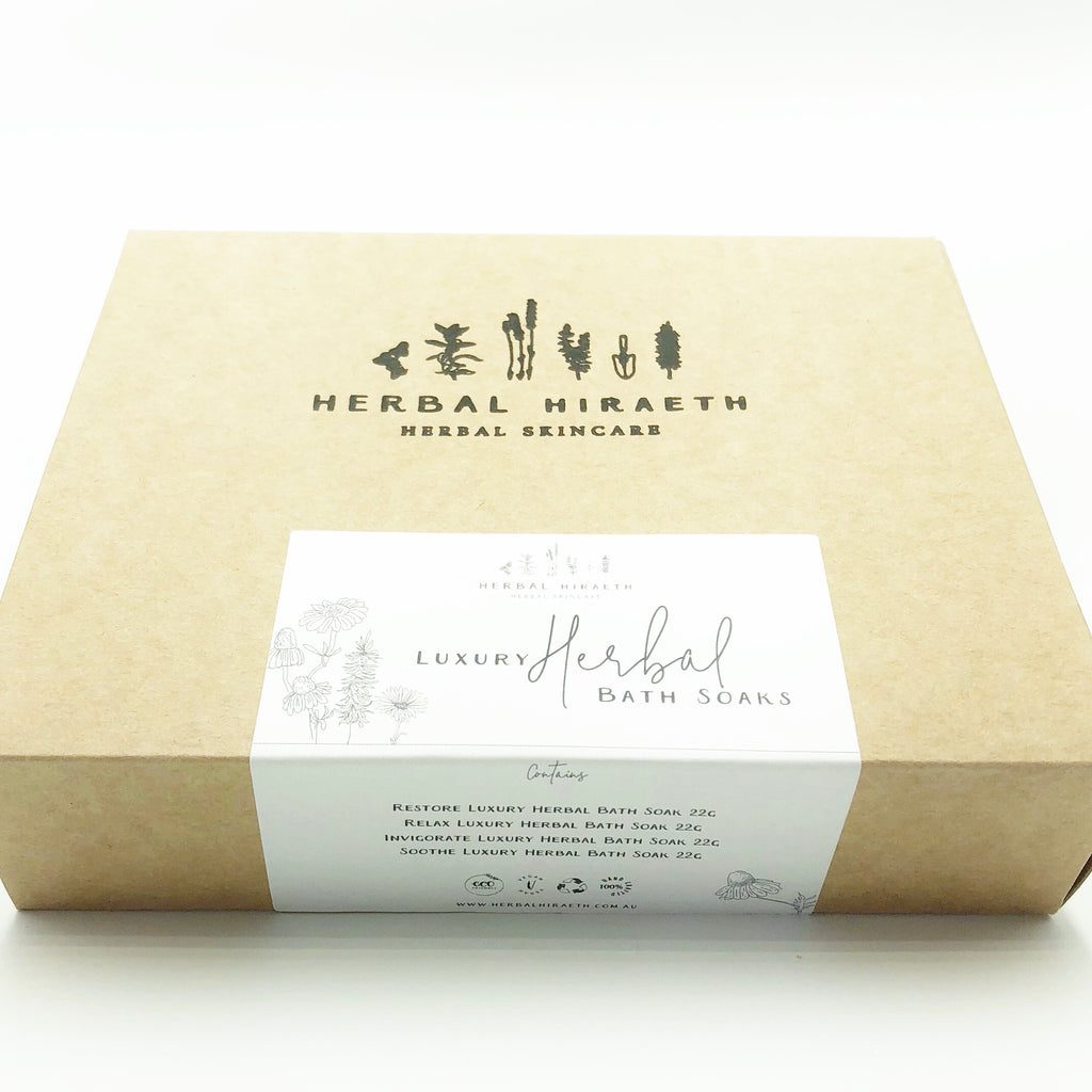 Herbal Hiraeth Luxury Herbal Bath Soak Set