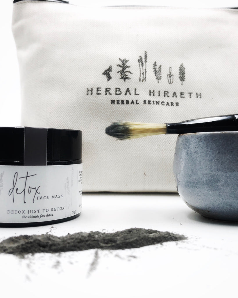 Herbal Hiraeth Detox Face Mask Kit