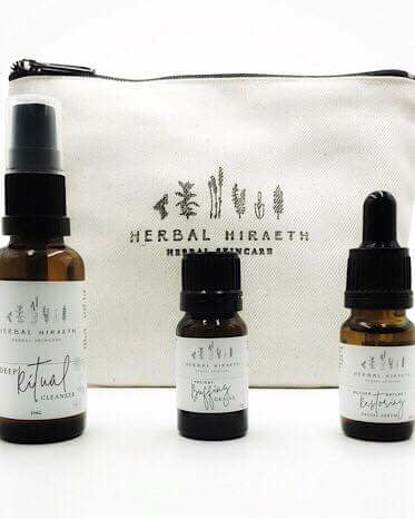 Herbal Hiraeth Face Ritual Trial / Gym Pack