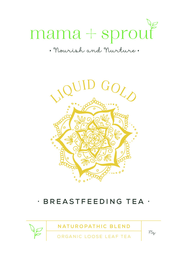 Mama + Sprout Liquid Gold - Breastfeeding tea - Move Your Body