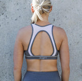 DS Flex Opal Crop - Silver Mist - Move Your Body