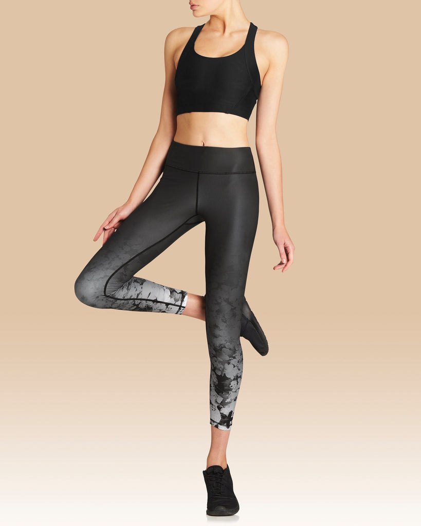 Vie Active Rockell 7/8 Legging Wildflower Ombre - Move Your Body