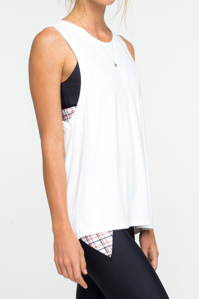 Arcaa Movement Dash Tank White