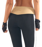 Lurv Burn It Up Legging - Gold / White