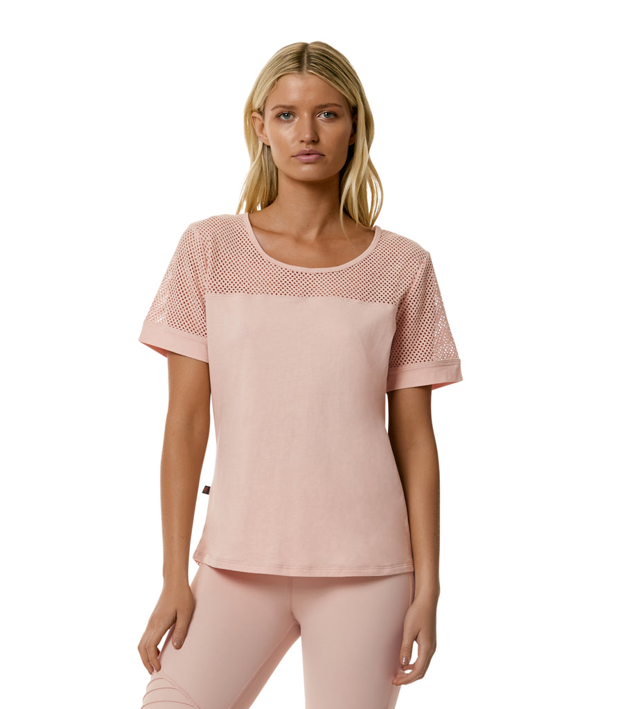 L'urv BLUSH ONE BODY TEE