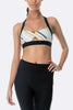 Arcadia Movement Stir Bra - Black/Stripe - Move Your Body
