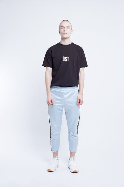 OST konzept Fall Winter 2016-17 striped sweatpants look1. Eastern european progressive trash fashion.
