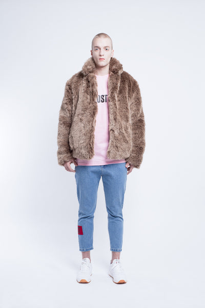 OST konzept Fall Winter 2016-17 squirell fur look1. Eastern european progressive trash fashion.
