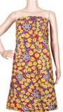 Kalamkari cotton Salwar Tops/Kurti material with Florals- Pink(26166B), Tops - Swadeshi Boutique