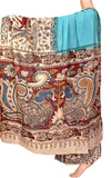 Kalamkari dyed saree on nalgonda silk  (31004F) *Sale 60% Off*, Sarees - Swadeshi Boutique