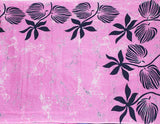 Batik cotton saree with a beautiful Attached blouse material -(34301A) *New Arrival*, Sarees - Swadeshi Boutique